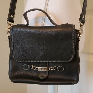 Esprit Black Crossbody Bag